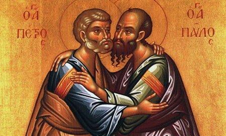 biblie, crestinatate, apostoli pavel_petru